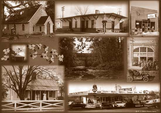 Photo Collage Of Old Smyrna